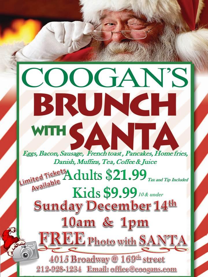 brunch with santa 2014